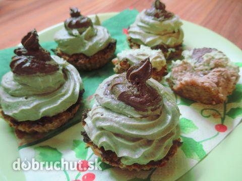 Fotorecept: Avokádovo-banánové koláčiky bez lepku