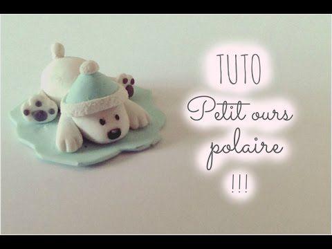    TUTO FIMO    Petit ours polaire - YouTube