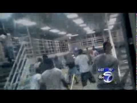 Guards do nothing as inmates fight at Rikers Island Gladiator School  ! - YouTube