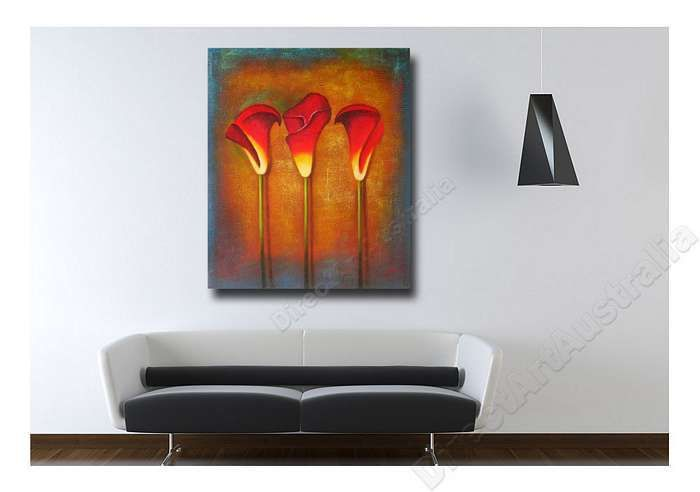 Beauty in a Row | Orange Wall Paintings & Canvas Prints Australia,  Price: $149.00,  Availability: Delivery 10 - 14 days,  Shipping: Free Shipping,   Minimum Size: 50 x 60cm,  Maximum Size: 90 x 120cm,   100% Money back guarantee. We deliver Australia wide!  http://www.directartaustralia.com.au/