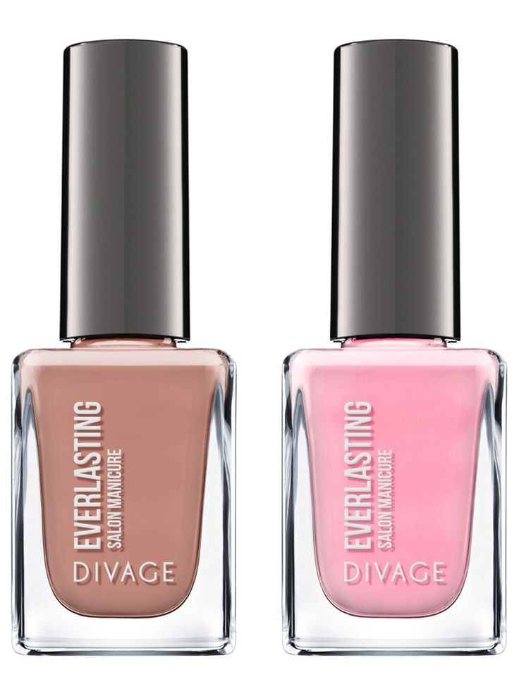 Divage Лак для ногтей гелевый nail polish everlasting тон 07 и тон 09