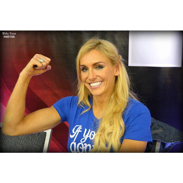 Charlotte WrestleMania Axxess 31 - Charlotte (wrestler) - Wikipedia,... via Polyvore