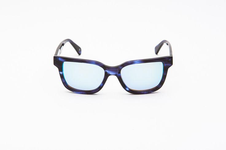 CIRO - BLUE SMOKE -by Australian sunglasses label ESTABLISHED. on www.shoptrawl.com