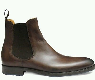 Handmade Men's Brown Color Chelsea Genuine Leather Boots, Men Leather Boots Men sold by leatherworld2014. Shop more products from leatherworld2014 on Storenvy, the home of independent small businesses all over the world.