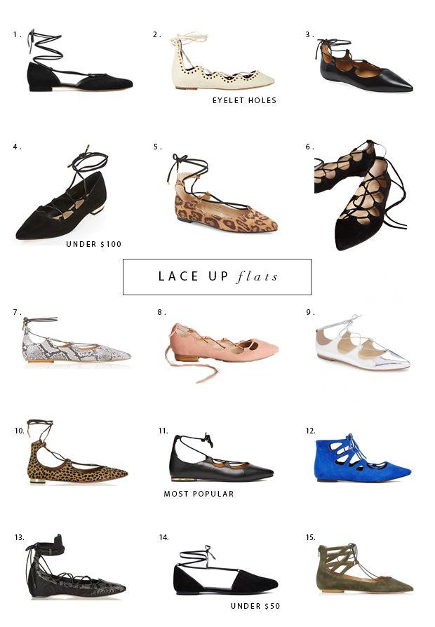 lace up flats, lace up shoes, ballet flats, aquazzura, topshop, billy ella, isabel marant