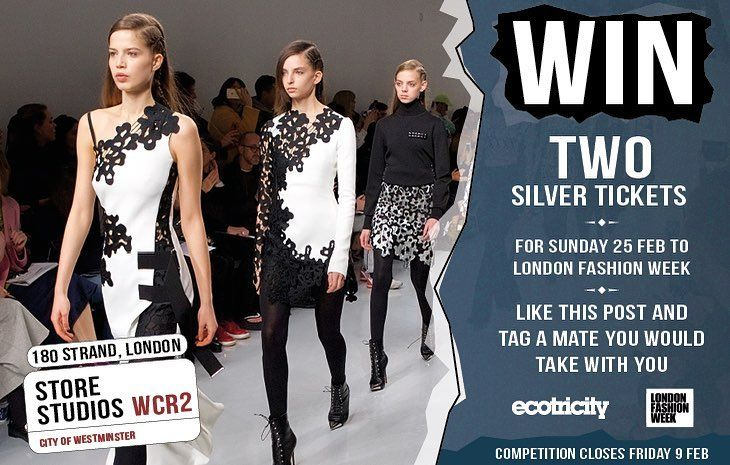 Attend the best dressed show in town!  Were giving away two silver tickets to London Fashion Week on Sunday 25 Feb  which includes event access and attendance at one catwalk show.  Youll also get access to industry insider talks so you can get ahead of the high street trends. And youll get to take home a limited edition LFW tote bag.  For more info go to http://ift.tt/2DVpRG4  Its simple to enter  just like our post and tag a friend youd like to take with you. The competition closes on Fri 9…