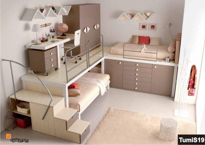 Pi di 25 fantastiche idee su letti a soppalco per bambini - Camere da letto soppalco ...