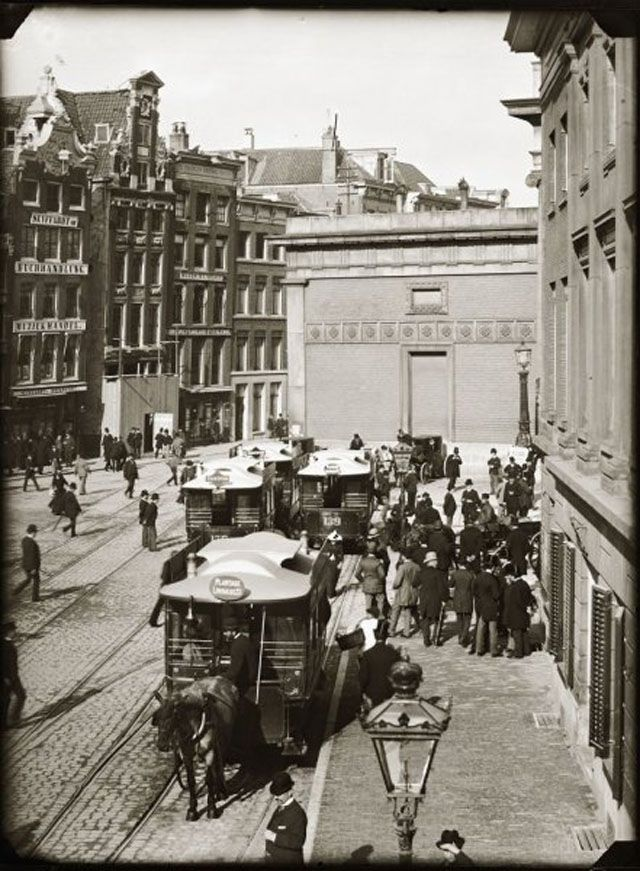 Amsterdam in Victorian Era – 28 Impressive Vintage Photos of the Capital of Netherlands Before 1900