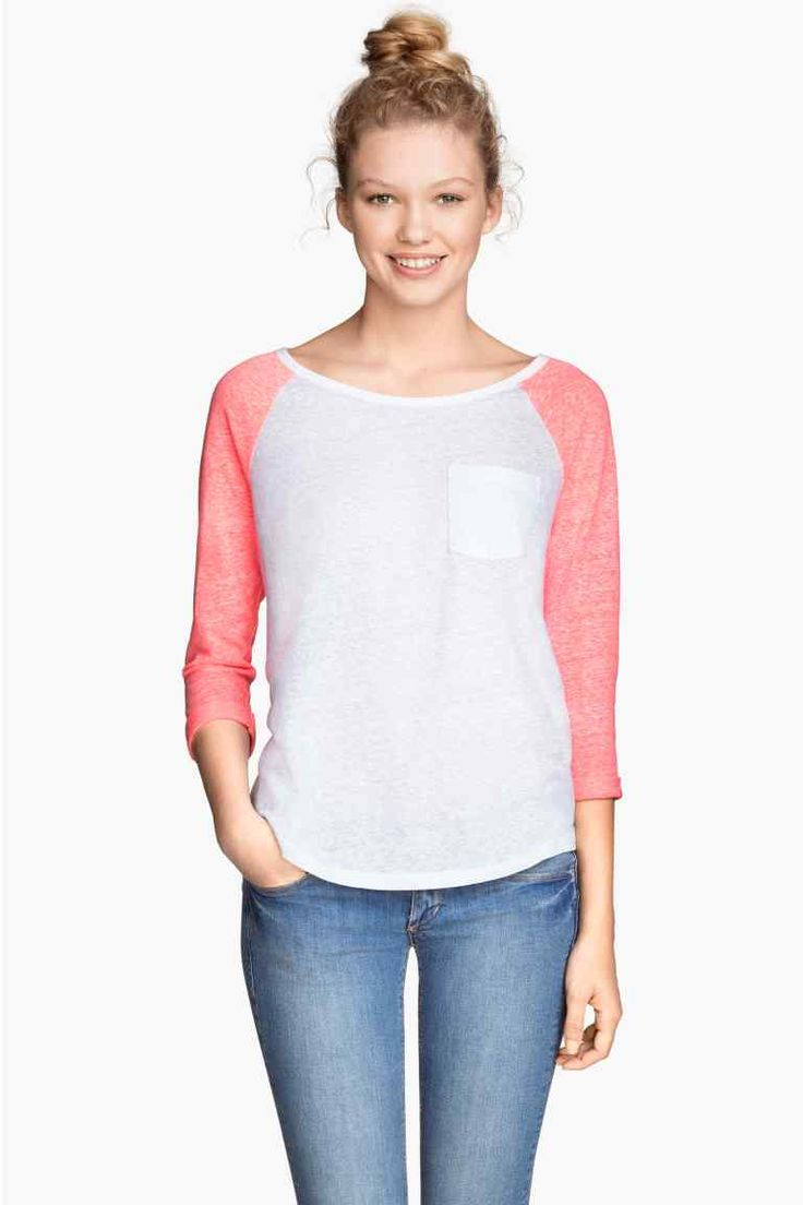Džersejové tričko | H&M