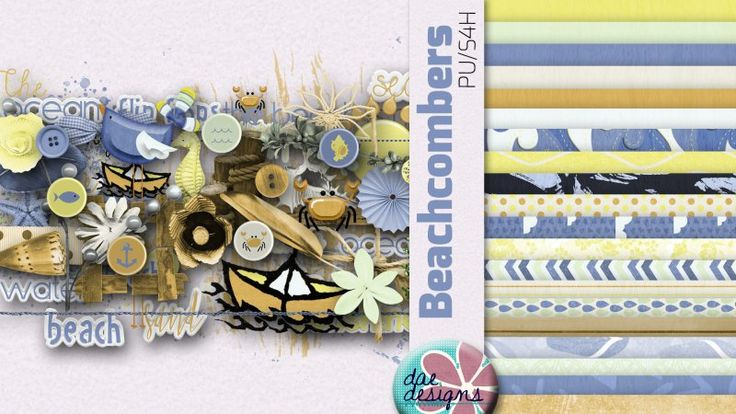 Beachcombers by Dae Designs