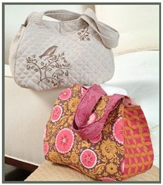 The Saddle Bag Pattern Sewing Pattern