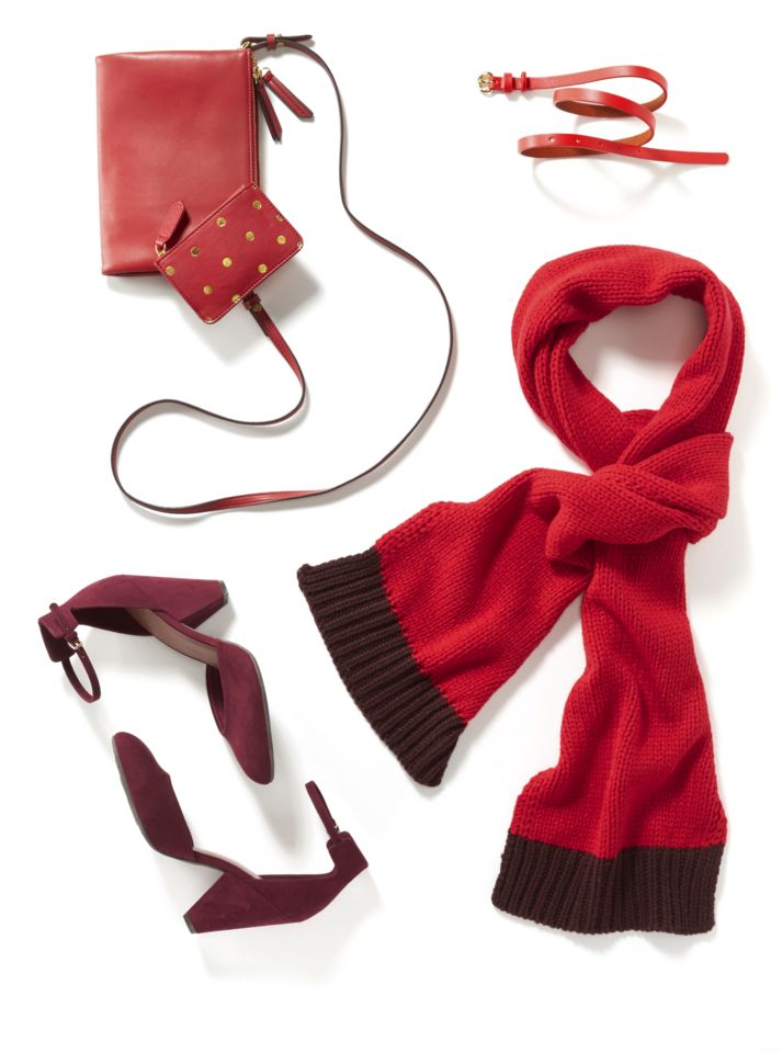 Old Navy has great gift ideas and stylish steals curated for everyone on your list.  Red is the queen of the holidays, and these adorable accessories make perfect stocking stuffers.