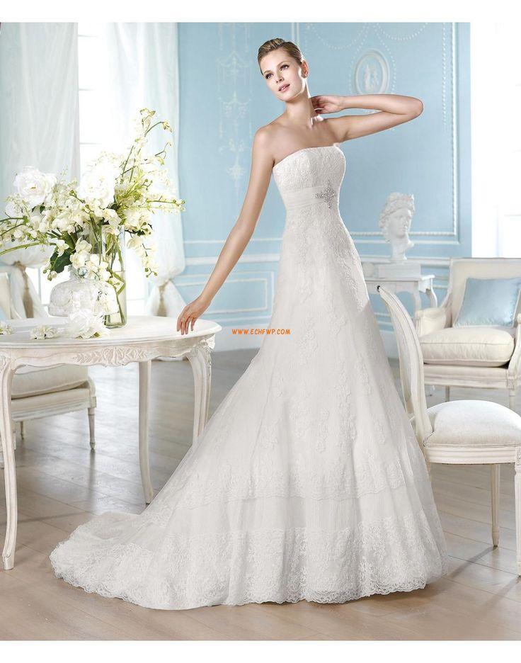 Kostel Krajkový vzhled Nášivky Svatební šaty 2014