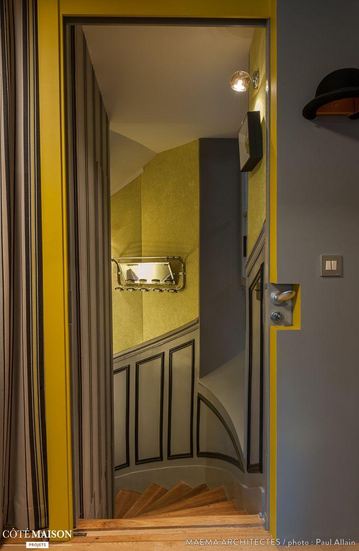 101 best Murs colorés images on Pinterest | Wall paint colors ...