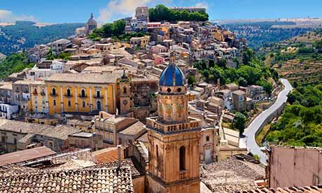 Ragusa ***If you want a really special place, there is a wonderful sandy beach called Randello, which is backed by a thick pine forest.