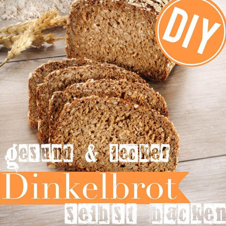 Dinkelbrot ist gesund und lecker. http://eatsmarter.de/ernaehrung/news/schnelles-dinkelbrot-selber-backen