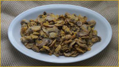 Funghi saltati con farina di mais - Ricette di non solo pasticci