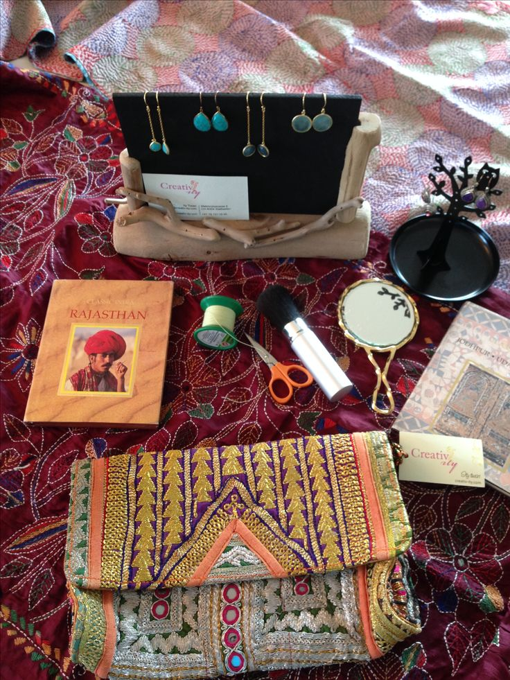 Silver jewellery, silk scarfs & eyebrow threading