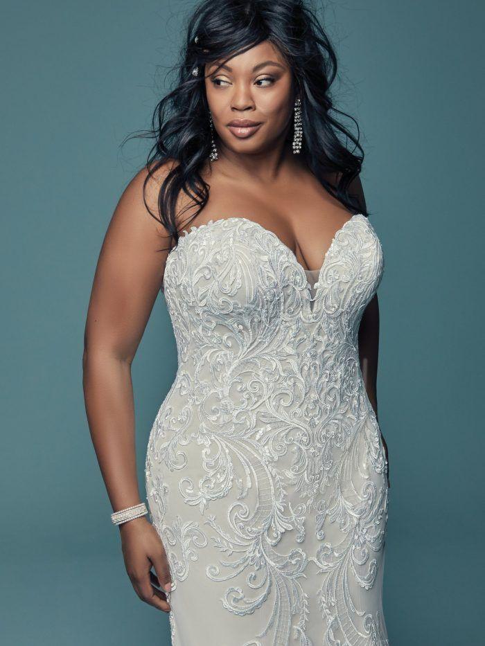 c7e5d15e479 70 Stunning Plus Size Wedding Dresses for 2018-2019 Brides