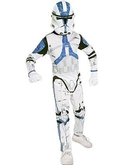 Kids Clone Trooper | Cheap Star Wars Halloween Costume for Boys