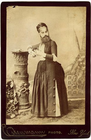 Madame Clofullia, The Bearded Lady - PROJECT B - Limited Edition Prints, Vintage Photographs, Shop Collections