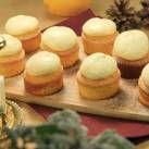 Saffranscupcakes med apelsinfrosting - Recept - Mitt Kök