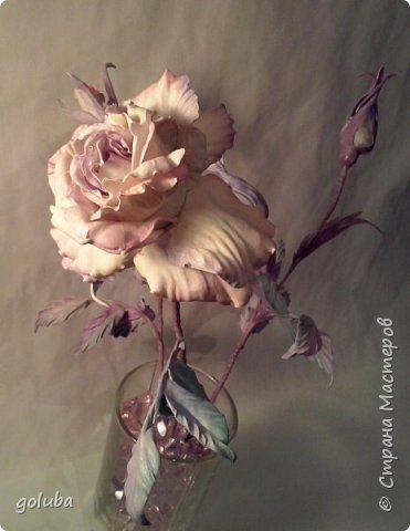Флористика искусственная Моделирование конструирование Цветы из фоамирана японская техника Фоамиран фом фото 1