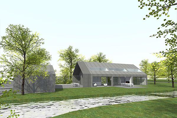 Nieuwbouw schuurwoning nieuwerkerk aan den ijssel jade for Inrichting huis ontwerpen