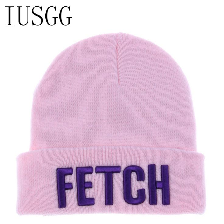 a89bf122a82 Letter FETCH Print Brand New Men and Woman Winter Wool Warm Hip Hop Hiphop  DIAMOND Beanies