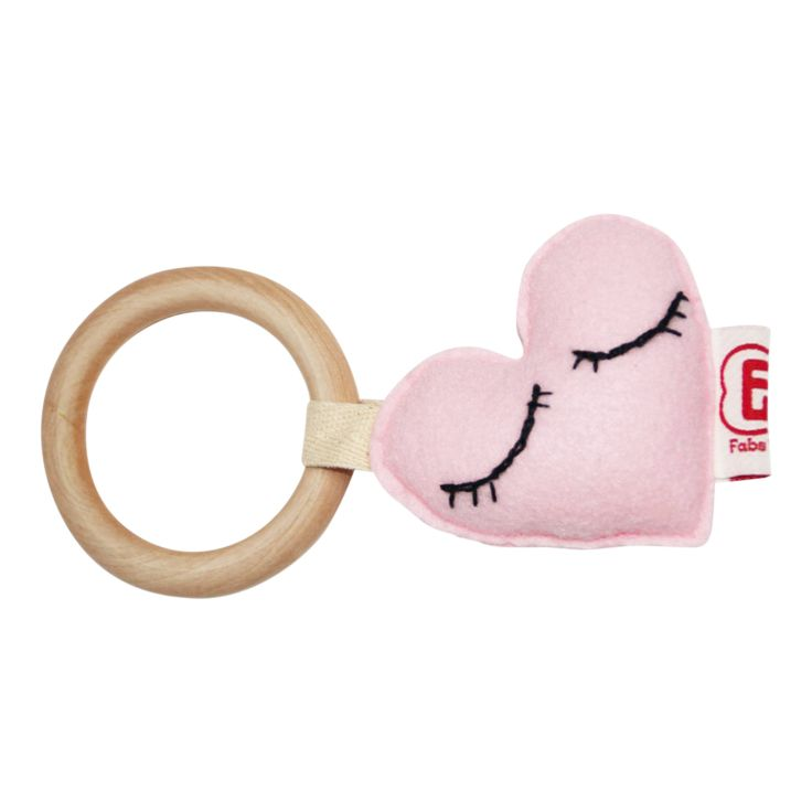 TEETHER HEART l Bijtring hart @fabsworld #fabsworld #mommyblog #giftidea #fabs #teether #nursery #kado #gift #babyshower #bijtring #present #fabsstore #rabbit #konijn #natural #olifant #heart shop:WWW.FABSSTORE.COM (ship worldwide)