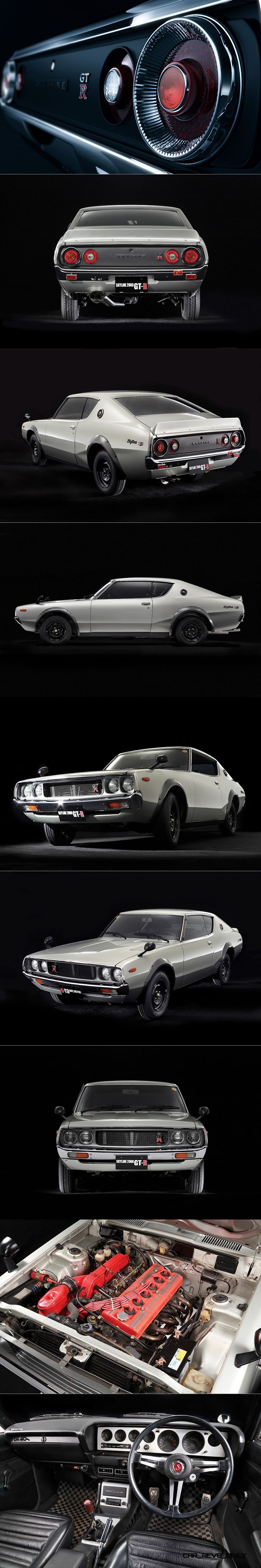 1972 Nissan Skyline GT-R / C110 / Japan / white / 16-73