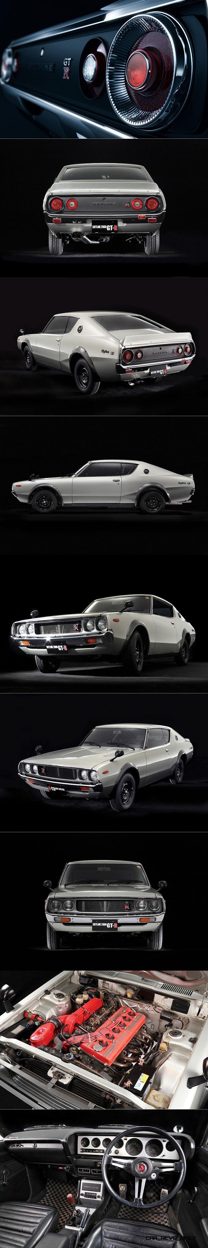 1972 Nissan Skyline GT-R / C110 / Japan / white