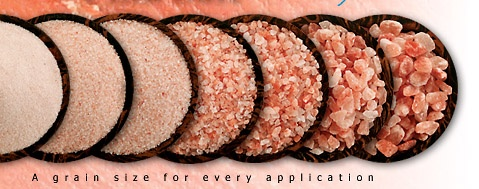 Pink Himalayan Salt, a Ritz-Carlton favorite! Has many, many health and beauty benefits! Love it!