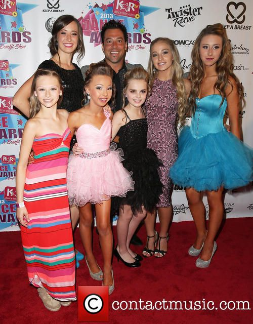 Sophia Lucia, Autumn Miller, Mia Diaz, Hayden Hopkins and some other dancers at the KARTV AWARDS.