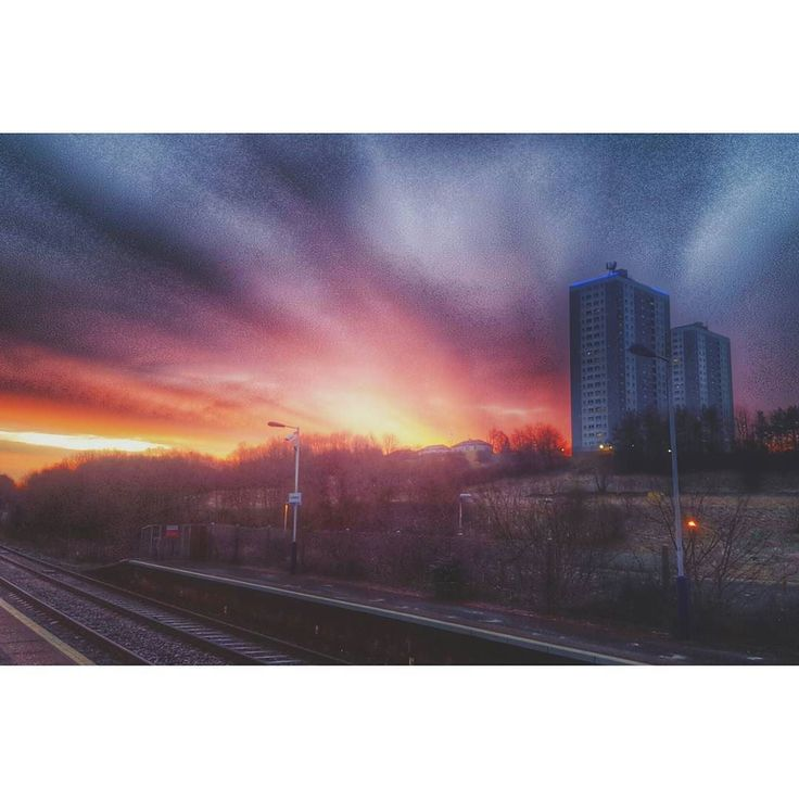 Red sky in the morning... #sunrise #sun #red #sky #morning #winter #weather #january #freezing #city #cityscape #citylife #landscape #scenery #view #glasgow #scotland #scottish #hdr #hdr_pics #igersscotland #ig_scotland #vsco #vscocam #vscocampics by jp_macca