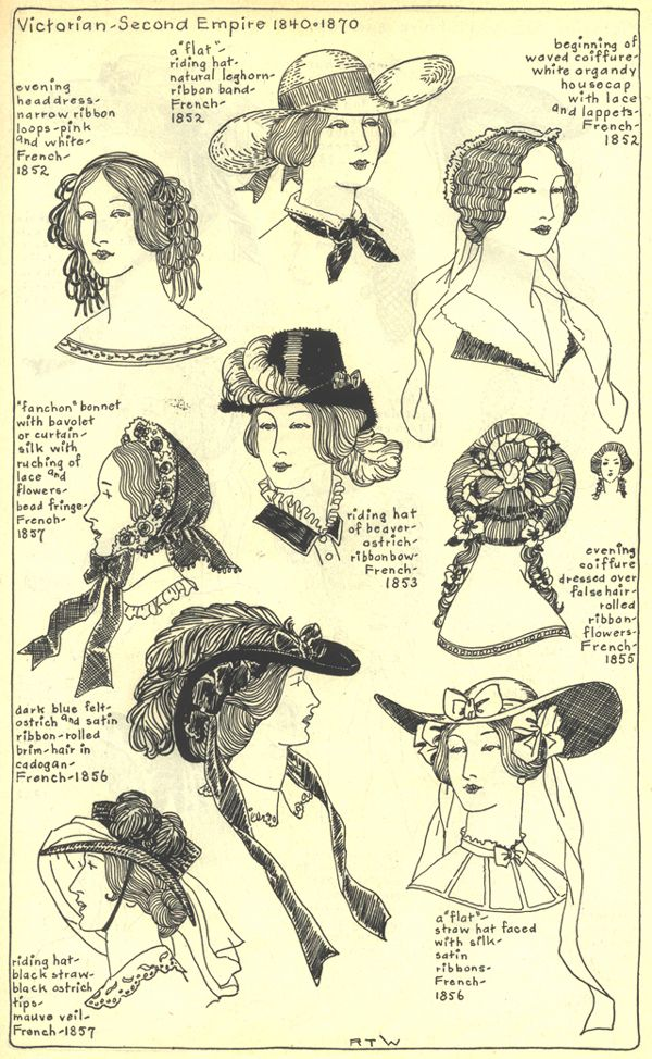 Village Hat Shop Gallery :: Chapter 15 - Victorian and Second Empire 1840-1870 :: 239_G