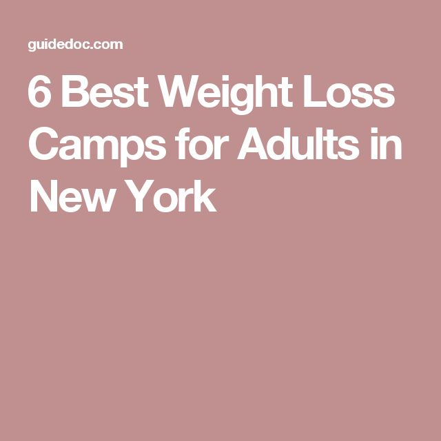 6 Best Weight Loss Camps for Adults in New York
