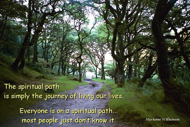 The spiritual path by Spiritual Quotes To Live By, via Flickr