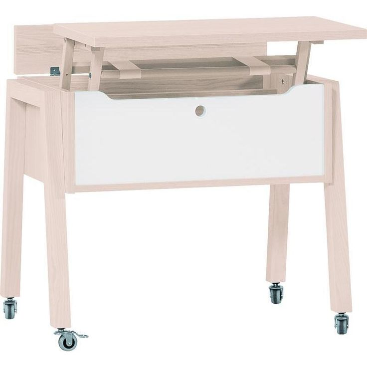 Voelkel Spot Collection Workstation with Lift-top on Castors