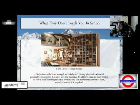 NSA: What They Don't Teach You In School - YouTube