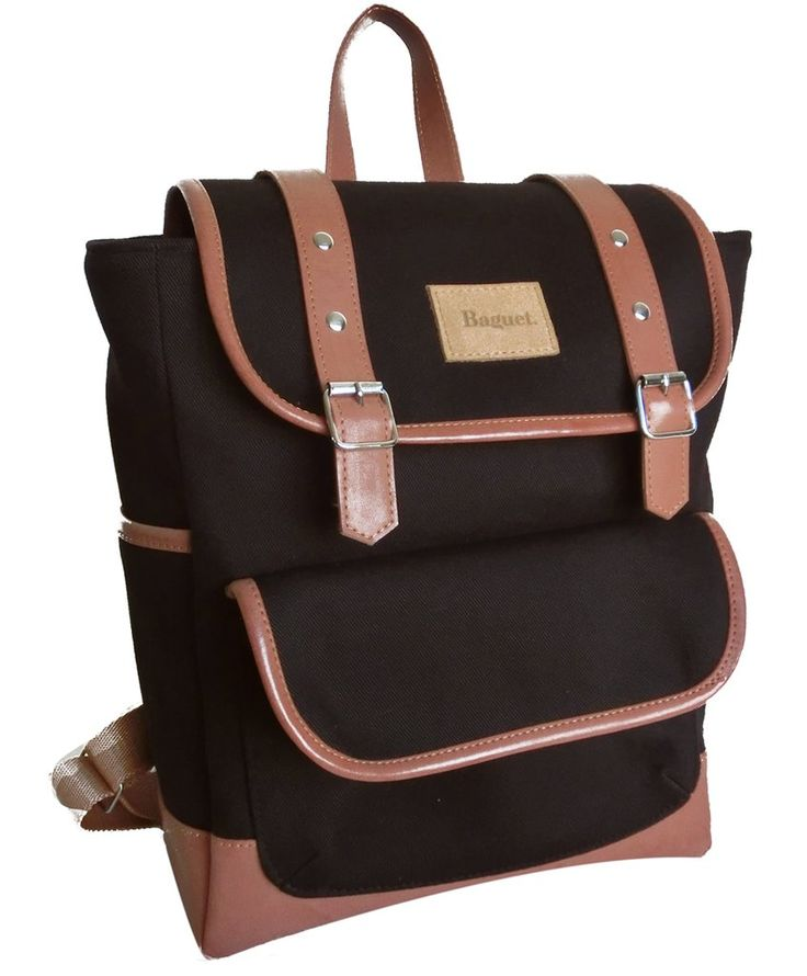 Mochila Baguet Marrón Oscuro - comprar online