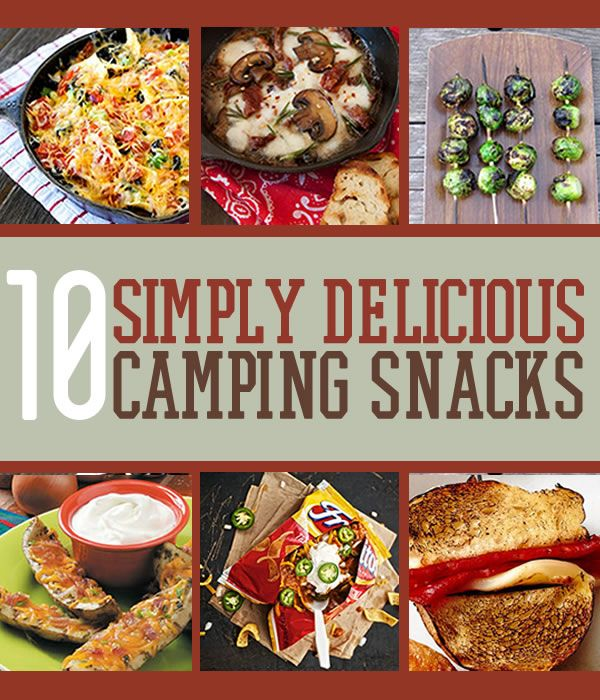 Easy Delicious Camping Food Ideas: Best 25+ Camp Snacks Ideas On Pinterest