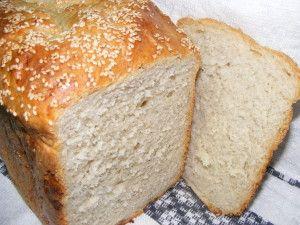 paine cu cartofi si rozmarin la masina de paine