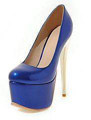 Feminino-Saltos-Outro-Salto+Grosso-Azul+Vermelho+Vinho-Sintético-Casual+Festas+&+Noite+–+EUR+€+82.89