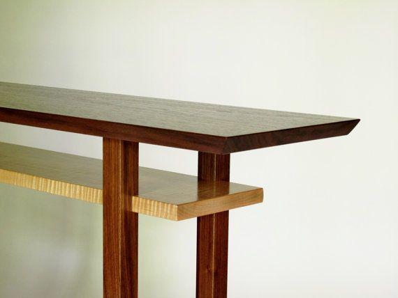 Best 25 handmade wood furniture ideas on pinterest for Narrow dressing table