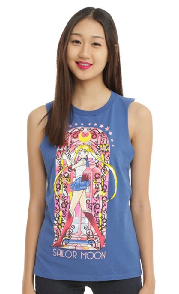 Sailor Moon stained glass muscle top from Hot Topic https://www.amazon.com/SAILOR-MOON-STAIN-GLASS-MSL/dp/B01CJXVAEU/ref=as_li_ss_tl?ie=UTF8&qid=1505175680&sr=8-14&keywords=sailor+moon+hot+topic&linkCode=ll1&tag=mypintrest-20&linkId=25e002f4f92efd24f0ac04a96e233fdc