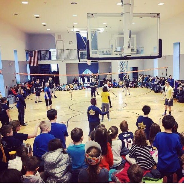 St. Mary's School in Waterford celebrated #CatholicSchoolsWeek with their annual 8th Grade vs. Teachers volleyball game. Congratulations to the 8th graders on their victory! #CSW17