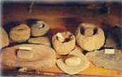 Photo: Washoe artifacts used for serving and preparing food.