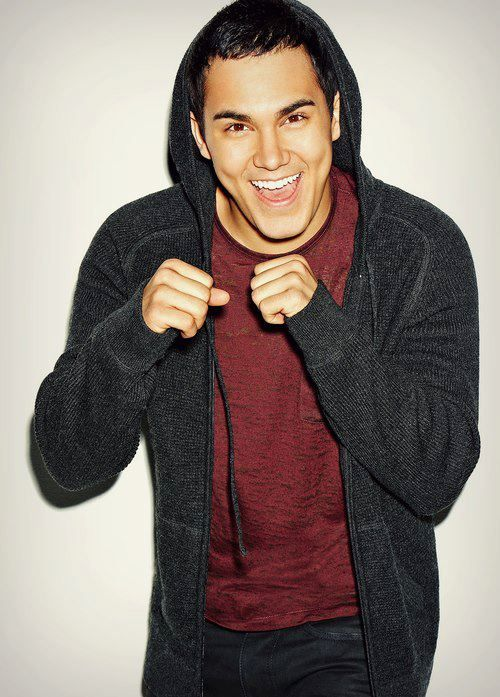 Fact. Happier guys are cuter guys. Chicks are attracted to guys that smile :) it makes you approachable. Carlos Penavega.
