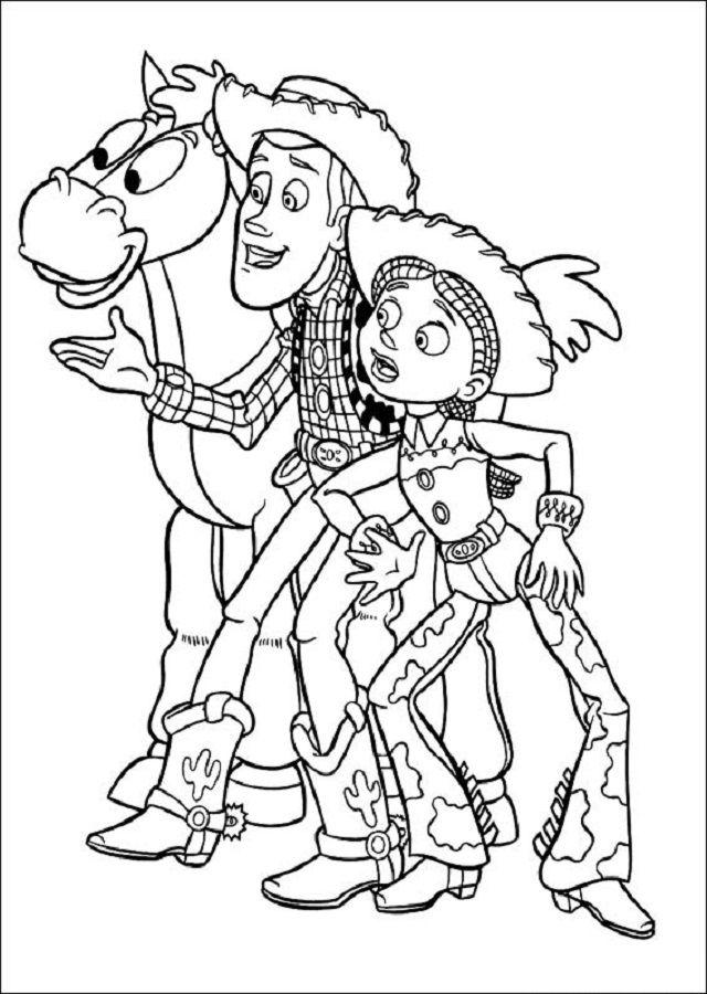 Jessie Vaquera Excitable Valiente Yatletica Lleva Una Gran Tristeza Tras Haber Sido Aban Paginas Para Colorear Disney Paginas Para Colorear Libro De Colores